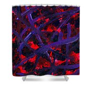 Forgiven Scars Shower Curtain by Edward Fuller