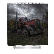 Forgotten Big Rig 2014 Shower Curtain