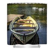 Forgotten Boat Shower Curtain