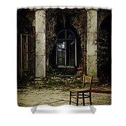Forgotten Courtyard Shower Curtain