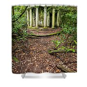 Forgotten Folly Shower Curtain