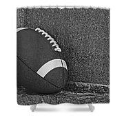 Forgotten Football  Shower Curtain