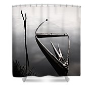 Forgotten In Time Shower Curtain