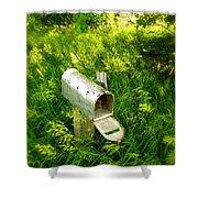 Forgotten Mail 0628 Shower Curtain