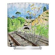 Forgotten Railway Shower Curtain