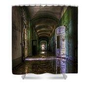 Forgotten Reflections Shower Curtain