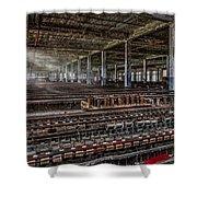 Forgotten Silk Mill Shower Curtain