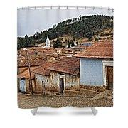 forgotten village Totora Shower Curtain