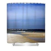 Forida Beach Shower Curtain