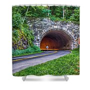 Fork Mountain Tunnel Shower Curtain