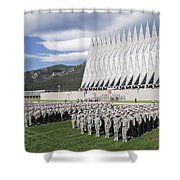 Formation Shower Curtain