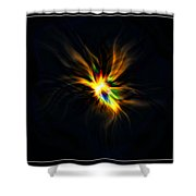Formation Of A Thought... Shower Curtain