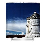 Fort Aguada  Shower Curtain