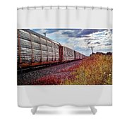 Fort And Van Horn Shower Curtain
