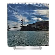 Fort Baker View Shower Curtain