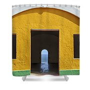 Fort Castillo San Felipe Del Morro Shower Curtain by Bryan Mullennix