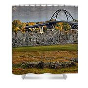 Fort Crown Point At Lake Champlain Shower Curtain