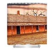 Fort Hays Winter Shower Curtain