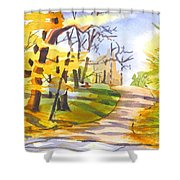 Fort Hill In Arcadia Shower Curtain by Kip DeVore