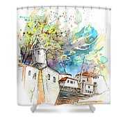 Fort In Valenca Portugal 01 Shower Curtain