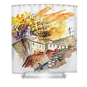Fort In Valenca Portugal 02 Shower Curtain