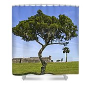 Fort It Tude 2 Shower Curtain