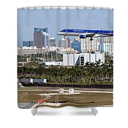 Fort Lauderdale Hollywood International Airport Shower Curtain