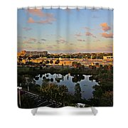 Fort Lauderdale View Shower Curtain