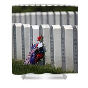 Fort Leavenworth National Cemetery Shower Curtain