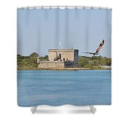 Fort Matanzas Shower Curtain