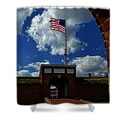 Fort Mchenry Main Gate Shower Curtain