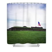 Fort Mchenry Shower Curtain