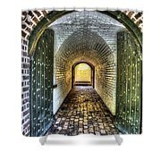 Fort Moultrie Door Shower Curtain