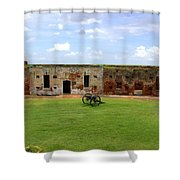 Fort Pike - #6 Shower Curtain