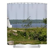 Fort Point State Park - Maine Shower Curtain