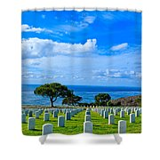Fort Rosecrans National Cemetery 2 Shower Curtain