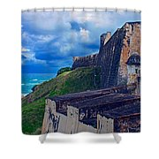 Fort San Cristobal Shower Curtain
