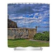 Fort San Felipe Del Morro  Shower Curtain