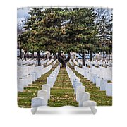 Fort Snelling National Cemetery Shower Curtain