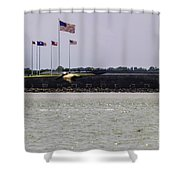 Fort Sumter Shower Curtain