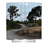 Fort Williams Park Portland Me Shower Curtain
