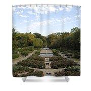 Fort Worth Arboretum Shower Curtain