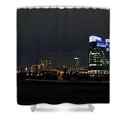 Fort Worth Chesapeake Plaza Shower Curtain