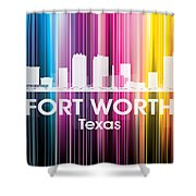 Fort Worth Tx 2 Shower Curtain