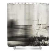 Forth And Back  Shower Curtain