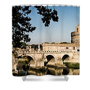 Fortress And Bridge Shower Curtain