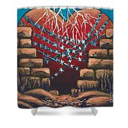 Fortress Around Your Heart Shower Curtain