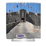 Fortress Shower Curtain