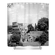 Forum Romanum Rome Italy Shower Curtain