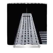 Foshay Tower  Mono Shower Curtain